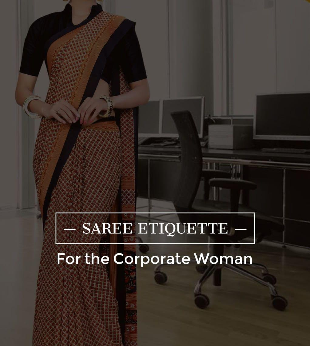 the-saree-etiquette-for-the-corporate-woman