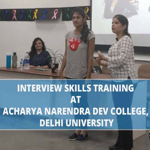 interview-skills-training-at-acharya-narendra-dev-college-delhi-university