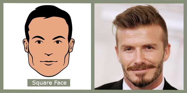 Square face shape - Image redefined