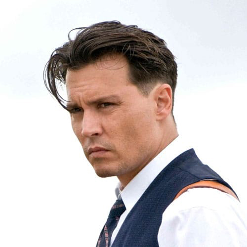 Johnny Depp Face Shape Hair Style Beard Shape