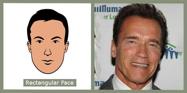 Rectangular face shape - Image redefined