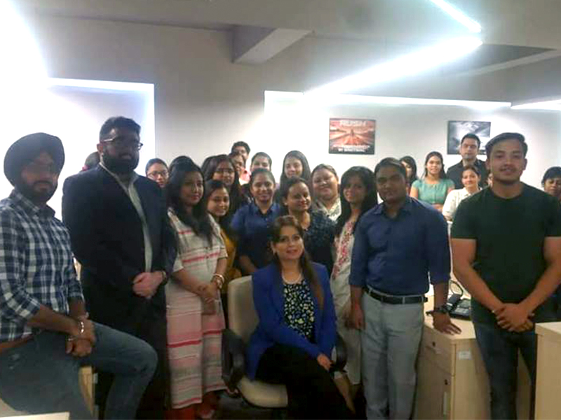 Session conducted for ABC Consultants on Power Dressing and Business Etiquette