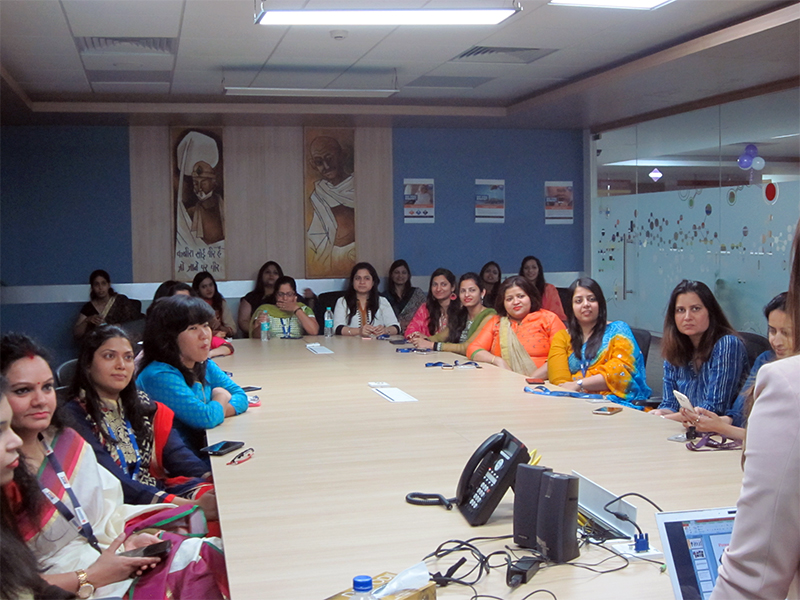 Session conducted for NIIT Technologies on Women's Day on Power Dressing and Personal Grooming