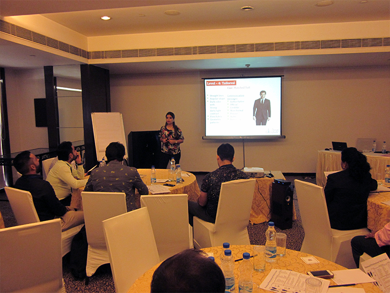Session Conducted on Power Dressing and Selling Skills for Oxirich Group