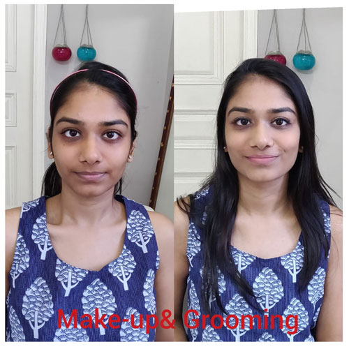 makeup and grooming for teenage & shy girls